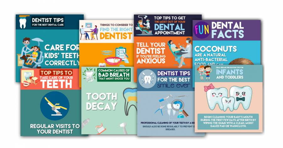 DFY Social Posts for Dentists